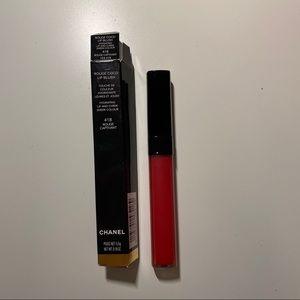 Chanel rough coco lip blush #418